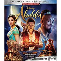 Aladdin [Blu-ray + DVD + Digital] (Bilingual)
