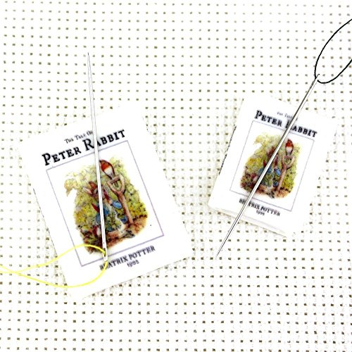 peter-rabbit-beatrix-potter-magnetic-clay-mini-book-needle-minder-by-book-beads-sewing-notions-embro