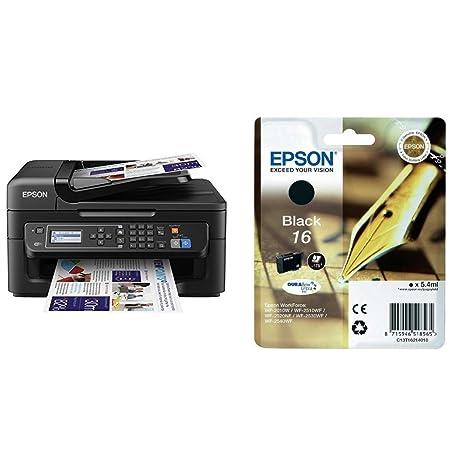 Epson Workforce WF-2630WF - Impresora multifunción de tinta + ...