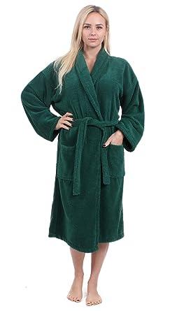 Turkuoise Women s Terry Shawl Robe 0258980c7