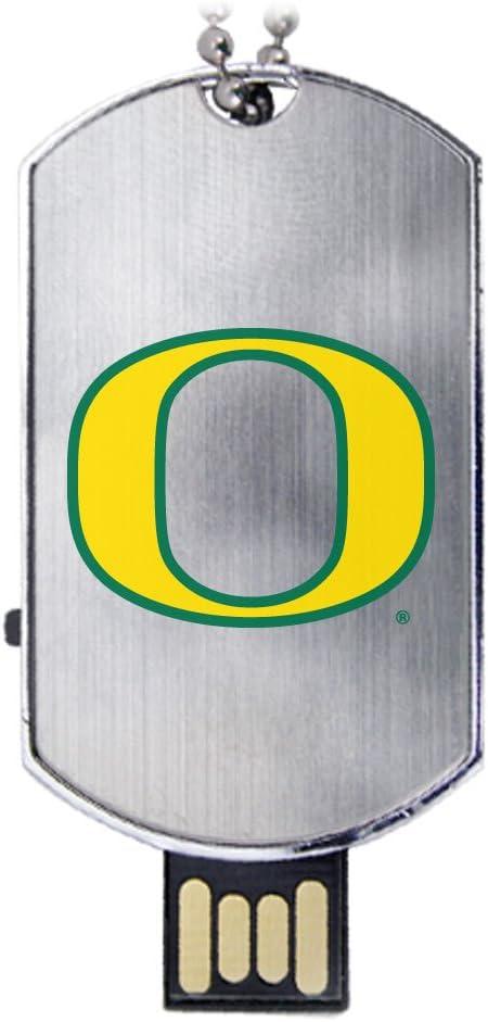 Oregon Ducks Flash Tag USB Drive 8GB