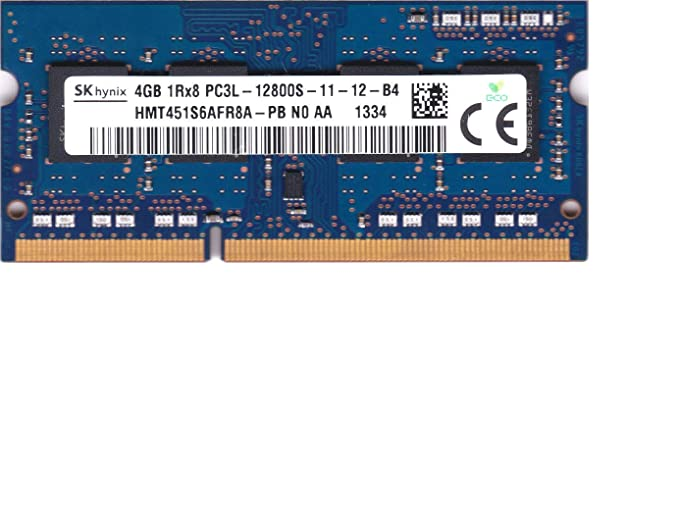 Hynix Hmt451S6Afr8A-Pb 4Gb Pc3-12800 DDR3-1600Mhz Non-Ecc Unbuffered Cl11 204-Pin Sodimm 1.35V Low Voltage Single Rank Memory Module Memory at amazon