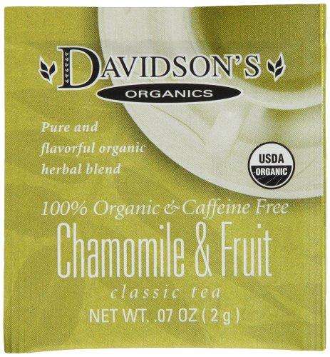 Davidsons Tea Single Chamomile 100 Count product image