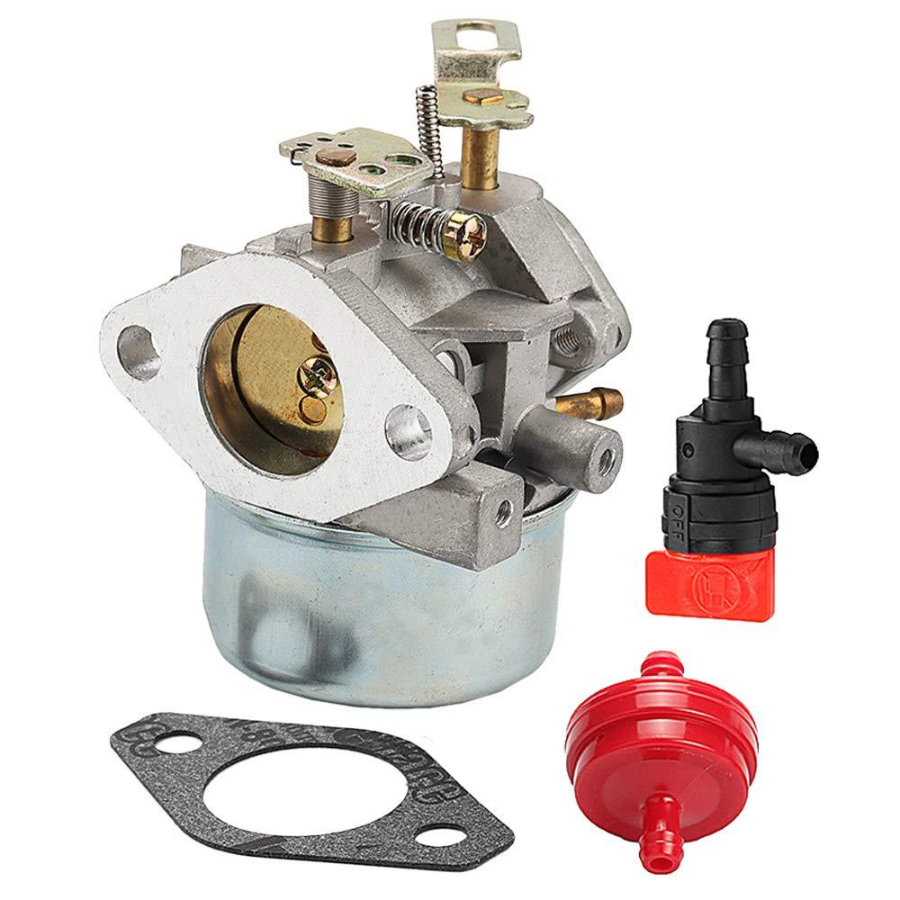 Carburetor For Tecumseh LH318SA LH358SA HMSK100 HMSK105 HMSK110