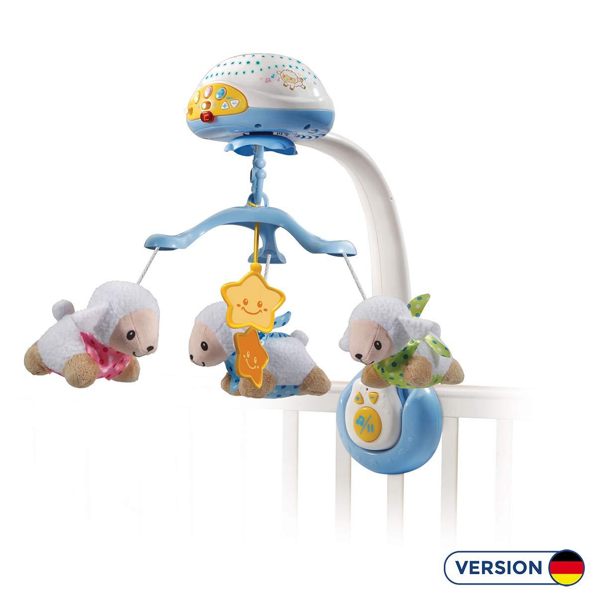 VTech Baby 80-503304 móvil para Bebes - Móvil para Cuna (Universal,, Niño/niña, 2 año(s), 45 min, AA)
