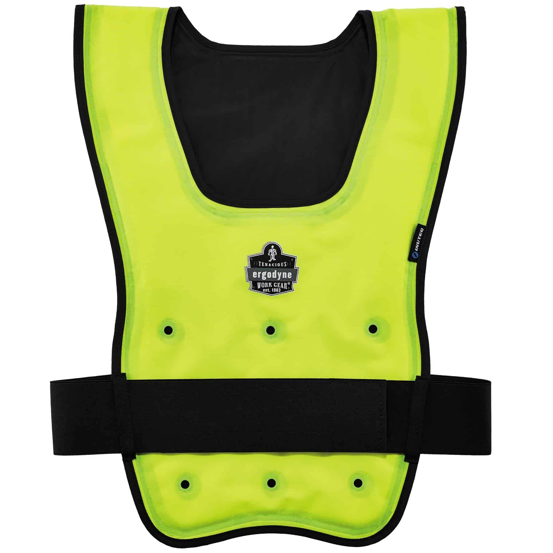 Evaporative Cooling Vest, Wearer Stays Cool and Dry, Breathable Comfort, Pull Over Design, Ergodyne Chill-Its 6687
