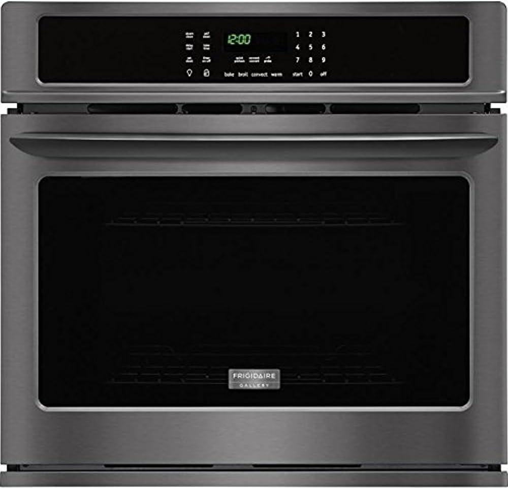 Amazon.com: Frigidaire galería 2 piezas negro cocina de ...