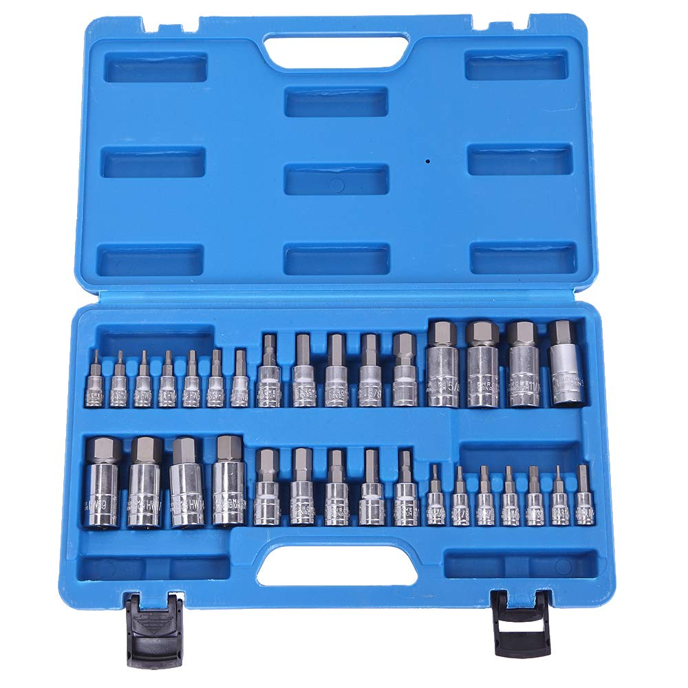 32pcs Combination Hex Allen Bit Socket Set by AllRide