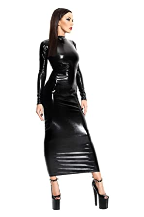 Leather dressed women fetish