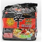 Nongshim Shin Ramyun Black Noodle Soup, 130-Gram
