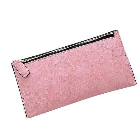 ebf07024cca9 Amazon.com: Halfbye Women's Long Leather Card Holder Organizer Purse ...