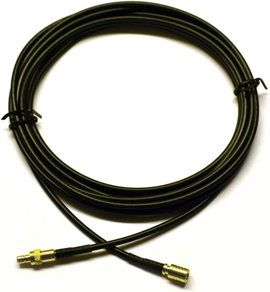 XM Sirius Coax Satellite Radio Extension Cable SMB M//F Str8//Angle to GPS Antenna