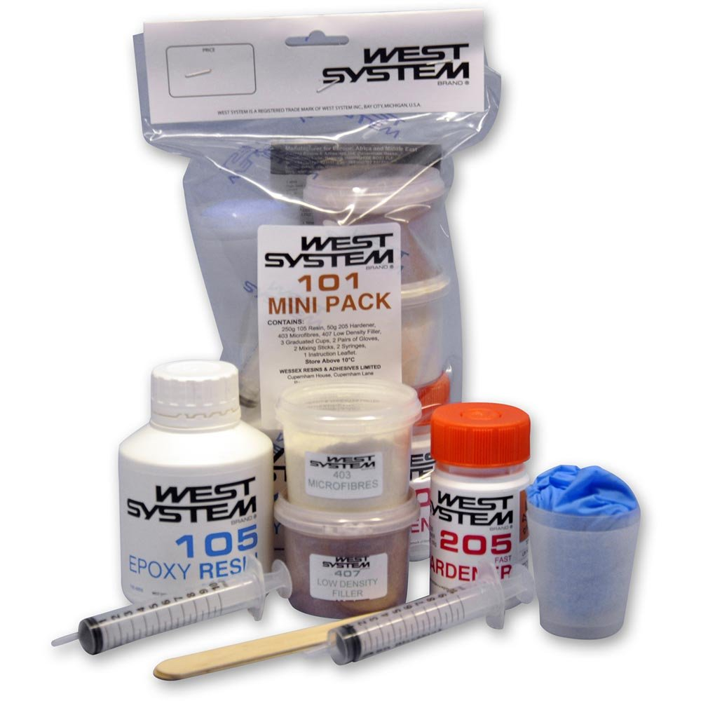 Amazon.com : Epoxy Resin Systems - Mini Repair Kit by West Systems : Sports  & Outdoors