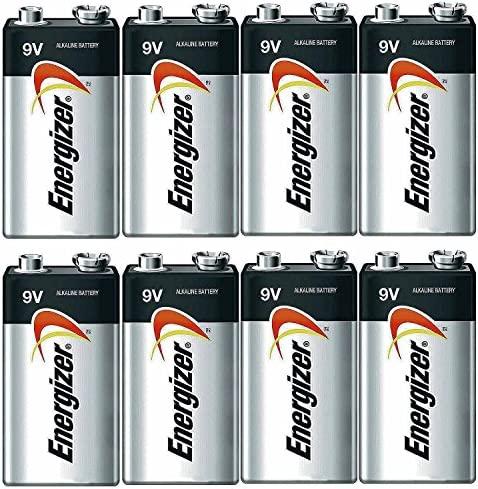 Energizer E522 Max 9V Alkaline battery - 8 Count
