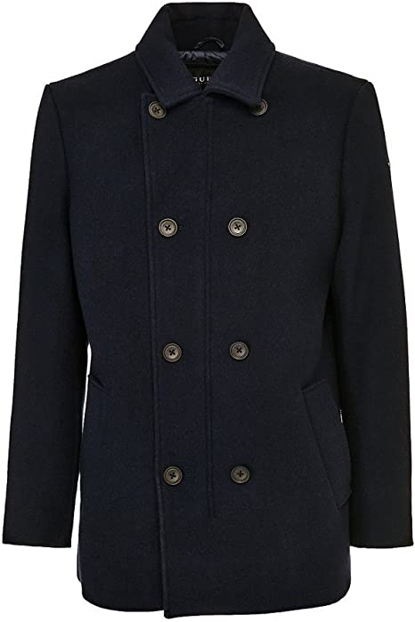Guess Manteau Contemporary Bleu Marine