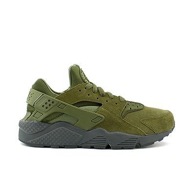 Nike Schuhe – Air Huarache Run Se GrünGrünKohlenstoff
