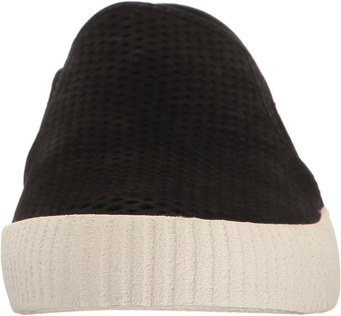 FRYE Black Camille Perforated Slip On Sneakers 9 Nwob