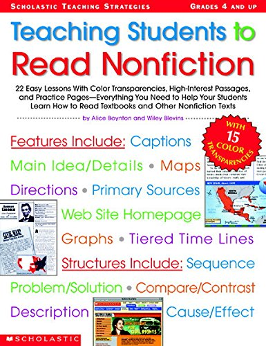 Teaching Students to Read Nonfiction: Grades 4 and