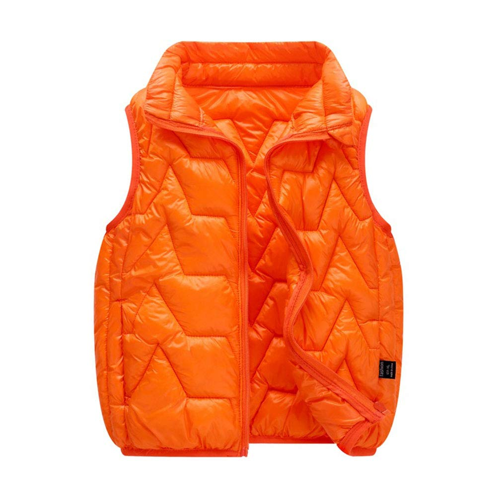 LOSORN ZPY Kids Baby Boy Girl Warm Puffer Vest Cotton Lightweihgt Waistcoat Jacket Outwear LZ-TZ-848