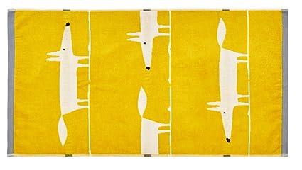 Guest Towel Cotton 40 x 70 x 0.2 cm Scion MR Fox Mustard
