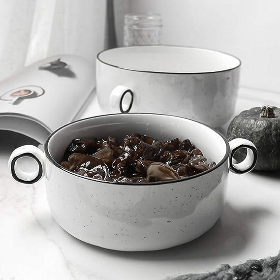 Awan Oído Harina de avena Sopa grande de cerámica Desayuno ...