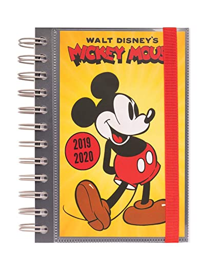 Agenda escolar 2019/2020 día página S Disney: Amazon.es ...