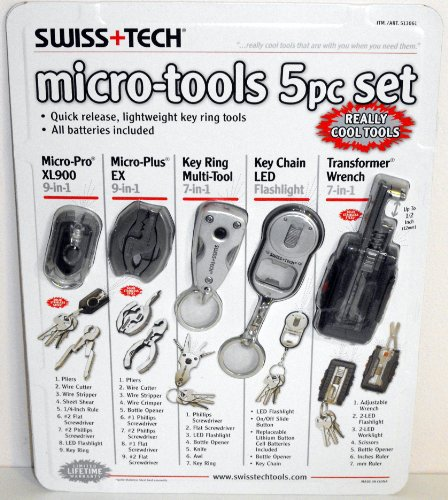 SwissTech Micro-Tools 5 pc Set