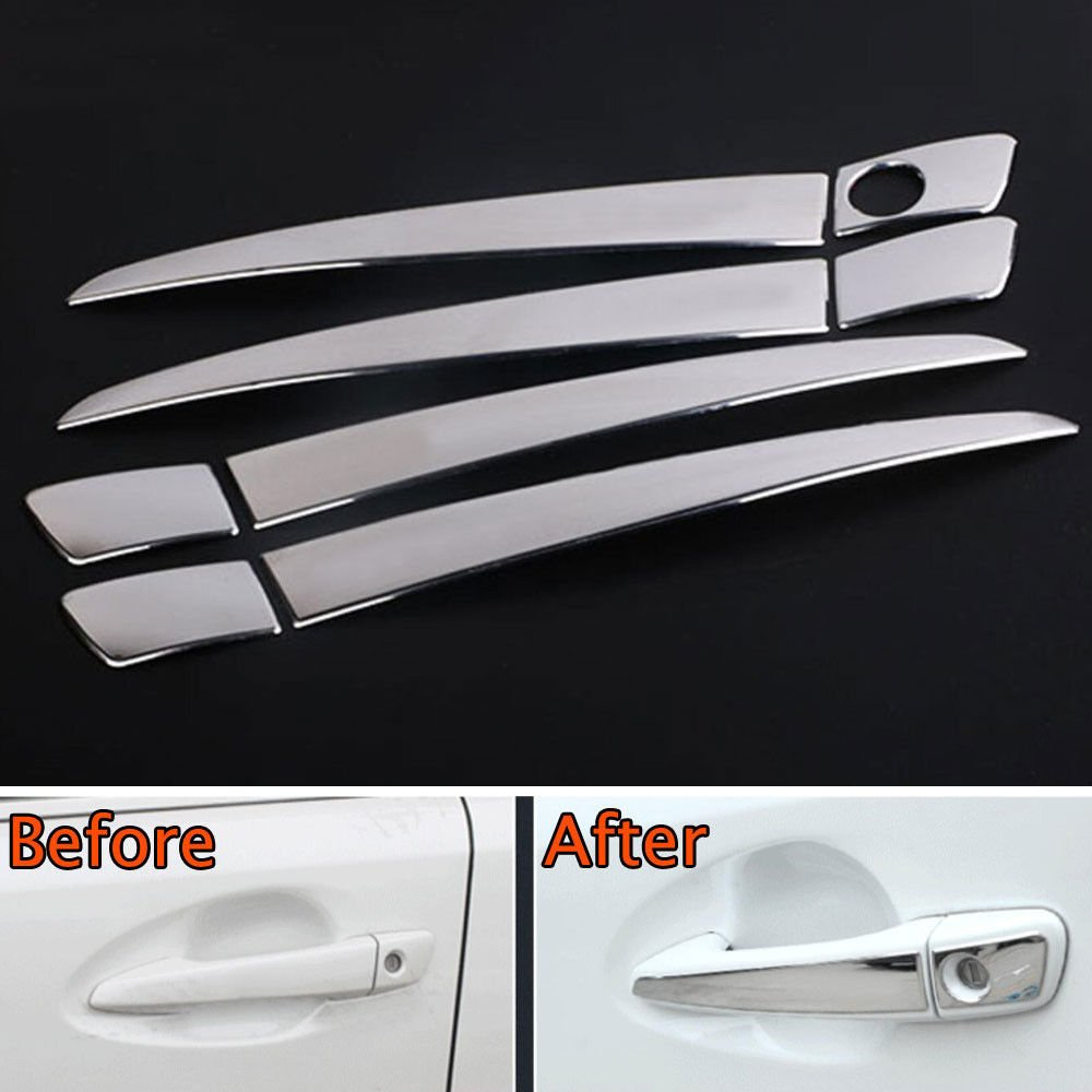 UltaPlay Car Chrome Stainless Out Door Handle Cover Trim Styling Sticker Fit For Lexus CT200h RX270/ES250 GS350/450 IS250/350