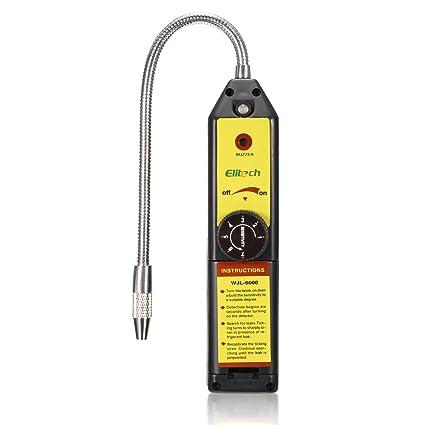 KUNSE WJL-6000 CFC HFC Gas halógenos Detector de Fugas de refrigerante R22 Aire Acondicionado