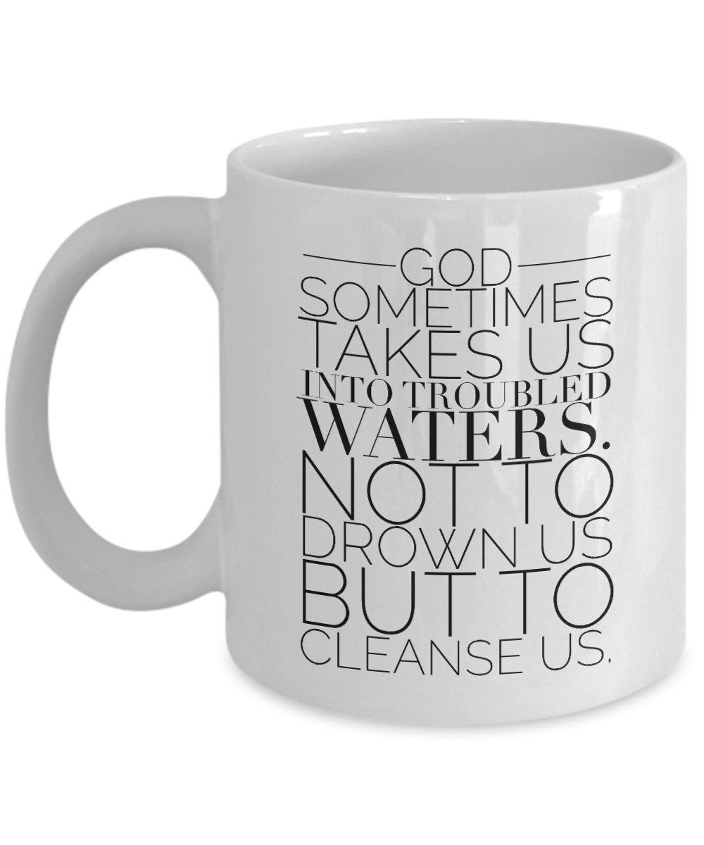 Cool Coffee Mug with Bible Quote