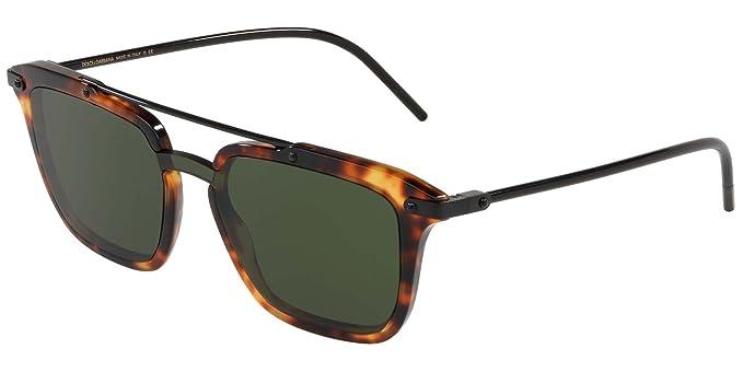 Dolce & Gabbana 0DG4327 Gafas de sol, Havana Camel, 45 para ...