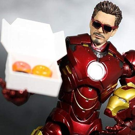 Mk4 Iron Man Modelo SHF Avengers Figura De Acción Alianza ...