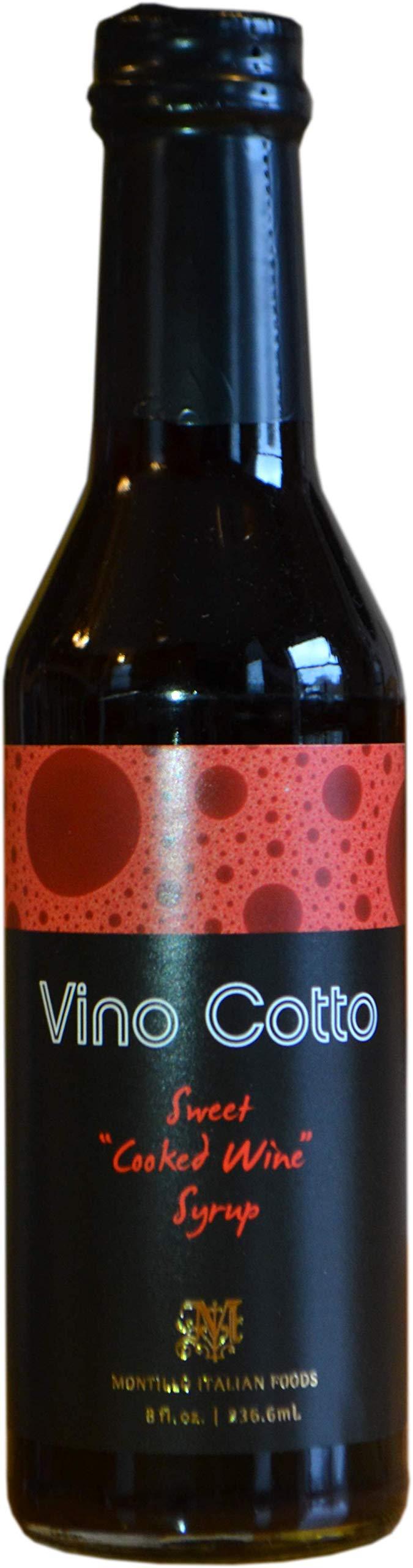 Vino Cotto, Originale 8 fl. oz. | 236.6mL (3 Pack) Saba | Vincotto | Mosto Cotto