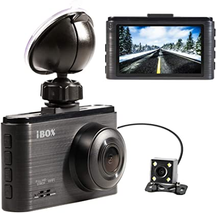 "4/"" HD 1080P 170° WDR Car DVR Dual Lens Camera Video Recorder Rearview Dash Cam Z"