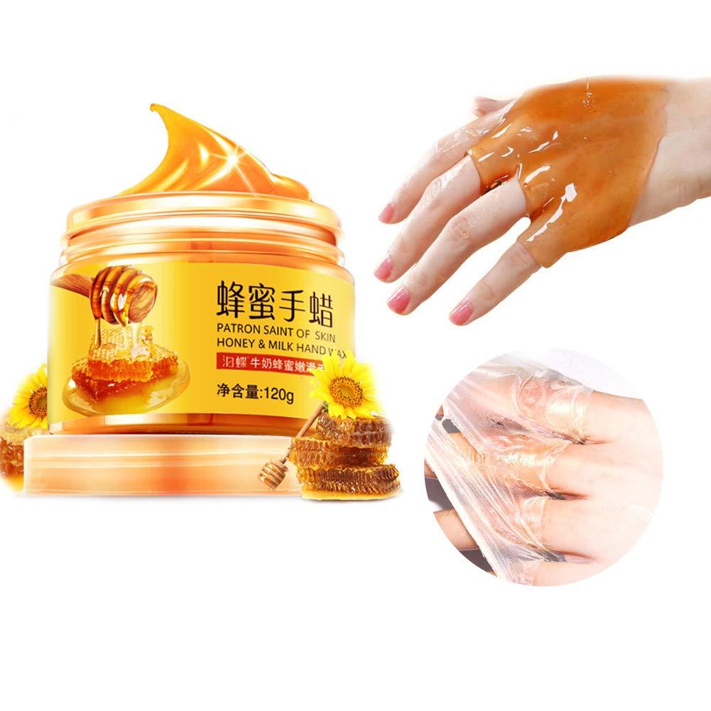 Ofanyia Honey Paraffin Wax Hand Mask Hand Care Moisturizing Whitening Exfoliating Calluses Hand Film Hand Cream