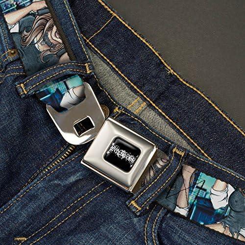 1.0 Wide-20-36 Inches Buckle-Down Mens Seatbelt Belt Gutter Sluts Kids