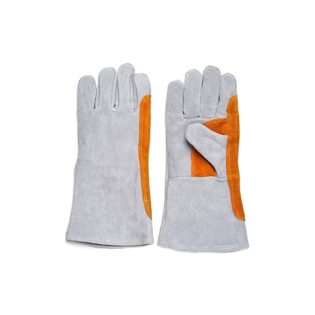YYTLST Electric Welding Gloves, High Temperature Insulation, Anti-scalding, Suitable for Industrial Railway Power, 10 Pairs/20 Pairs/50 Pairs (Color : 10 Pairs) by YYTLST