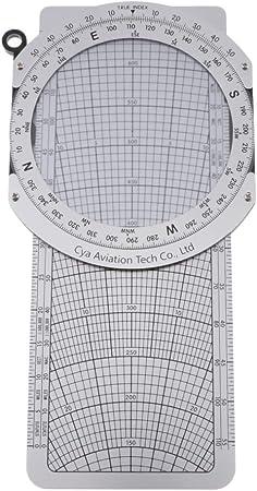 IPOTCH E6-B Metal Planeamiento De Vuelo Computadora Plotter áutico Herramientas De Navegación: Amazon.es: Bricolaje y herramientas