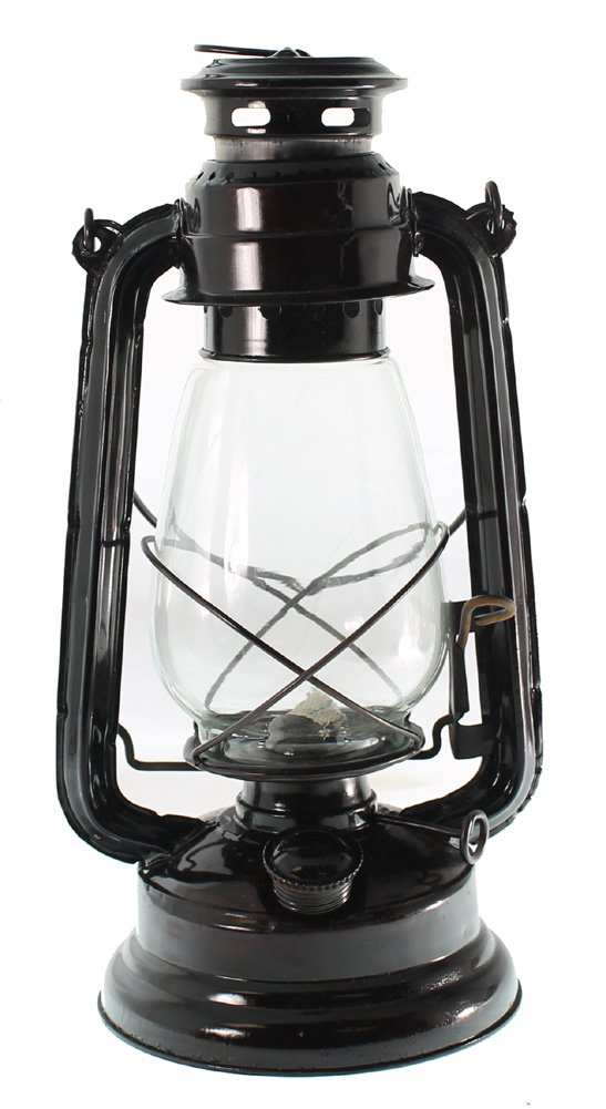 Hurricane Lantern 15-inch (Uses Lamp Oil or Kerosene) by Kerosene Lantern