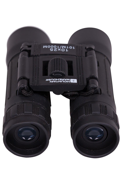 kompakt Leicht Reisen Mountain Warehouse Fernglas F/ür Kinder und Erwachsene 105 mm x 72 mm x 50 mm Robustes Design Zum Beobachten von V/ögeln 10 x 25 mm