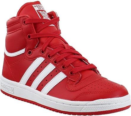 Amazon.com: adidas Kids Boys Ten Hi High Sneakers Shoes Casual ...
