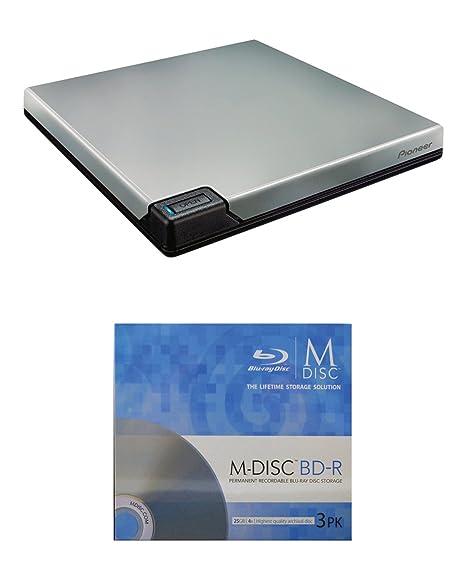 Amazon.com: Pioneer 6 x BDR-XD05S portátil USB 3.0 Blu-ray ...