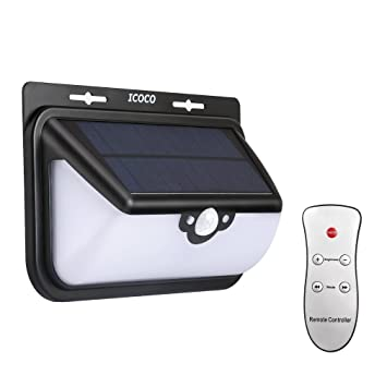 68 led solar lights icoco solar security lights 800lm 68 led solar lights icoco solar security lights 800lm weatherproof 3 lighting modes mozeypictures