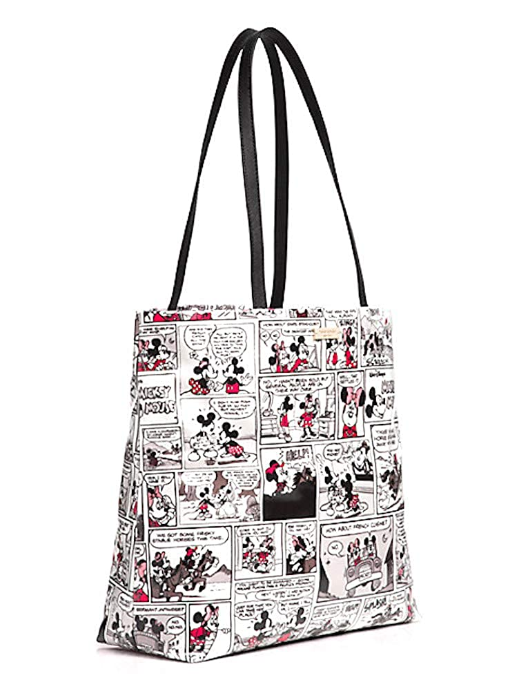 58dad3fb3ab Amazon.com  Disney Kate Spade New York For Minnie Mouse Comic Tote Bag  Purse  Shoes