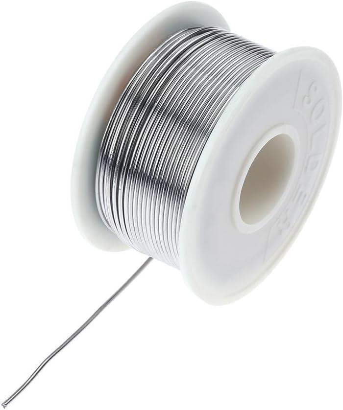 Asiproper Fil de soudure /à souder 100 g 60//40 C/œur de colophane /à souder en fil de fer /à souder