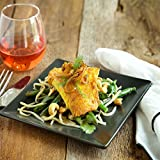 Red Snapper with Green Apple Salad and Tamarind Vinaigrette by Chef d Partner Angelo Sosa (Dinner for 4)
