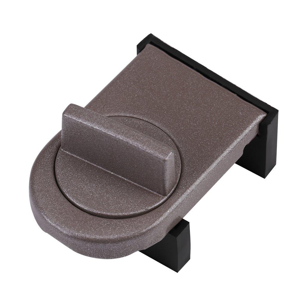 (Pack of 2) Kids Sliding Window Lock Child Safety Adjustable Sliding Door Infant Proof Security Lock Stopper Wedge