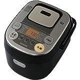 アイリスオーヤマ 炊飯器 IH式 3合 銘柄炊き分け機能付き 大火力 RC-IB30-B