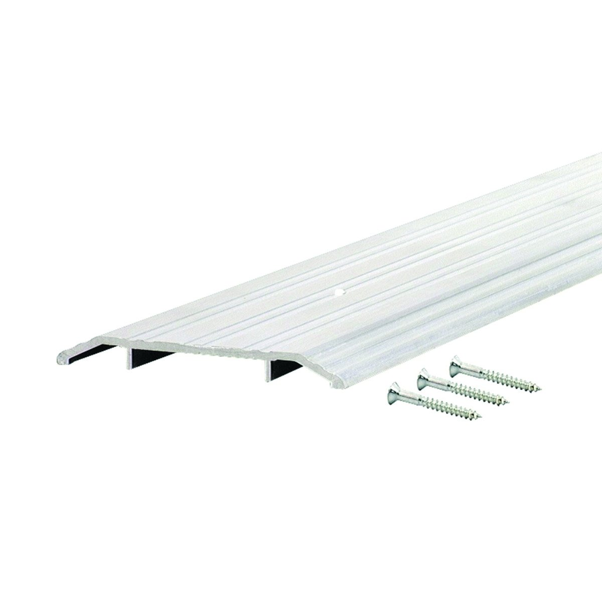 Commercial 5'' Wide Fluted Top Aluminum Door Threshold - #99058 by Custom Door Thresholds (Image #1)