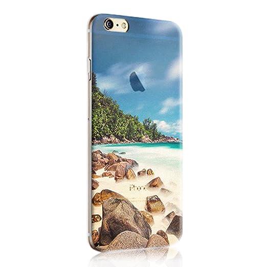 33 opinioni per Cover iphone 6, Custodia iphone 6s, Sunroyal® Paesaggio Scenario Creativa Cover